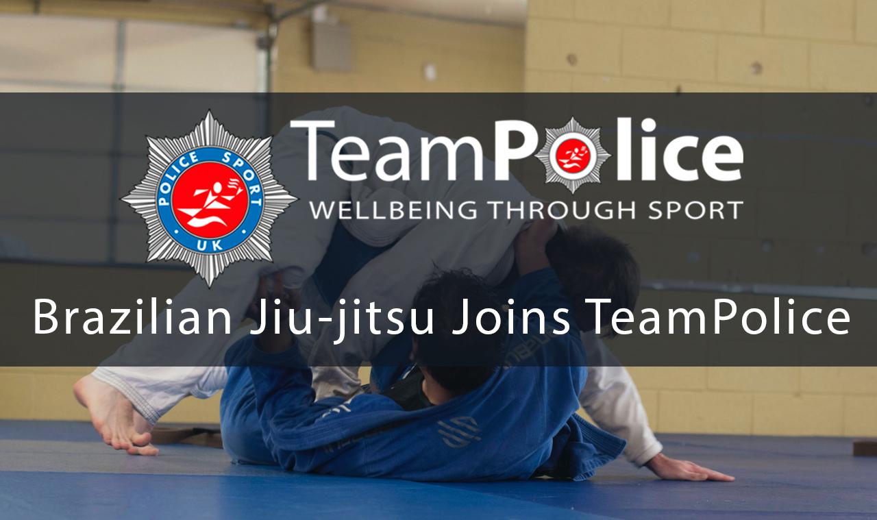 Brazilian Jiu-jitsu Joins Team Police