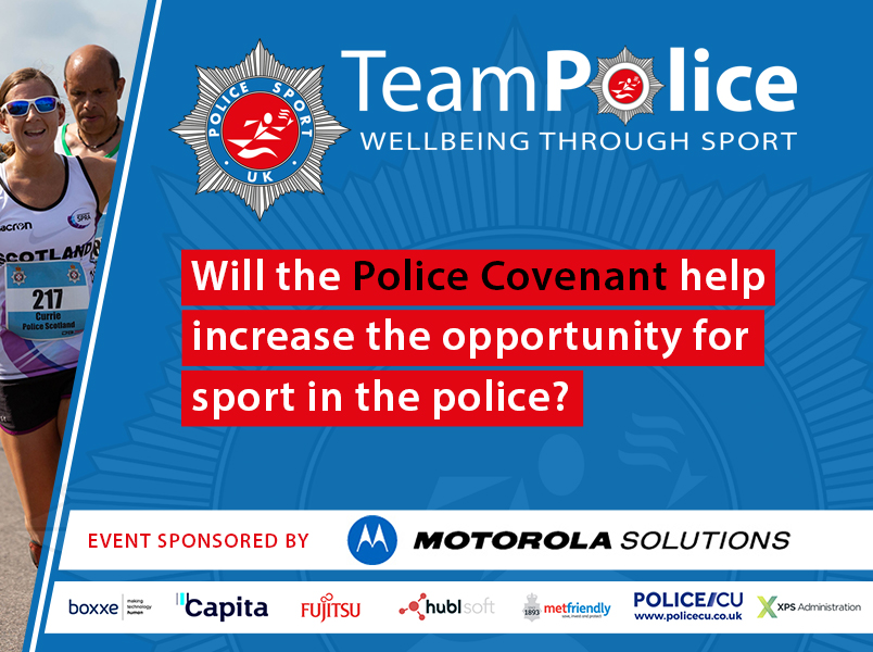 How can The Police Covenant support sport in policing