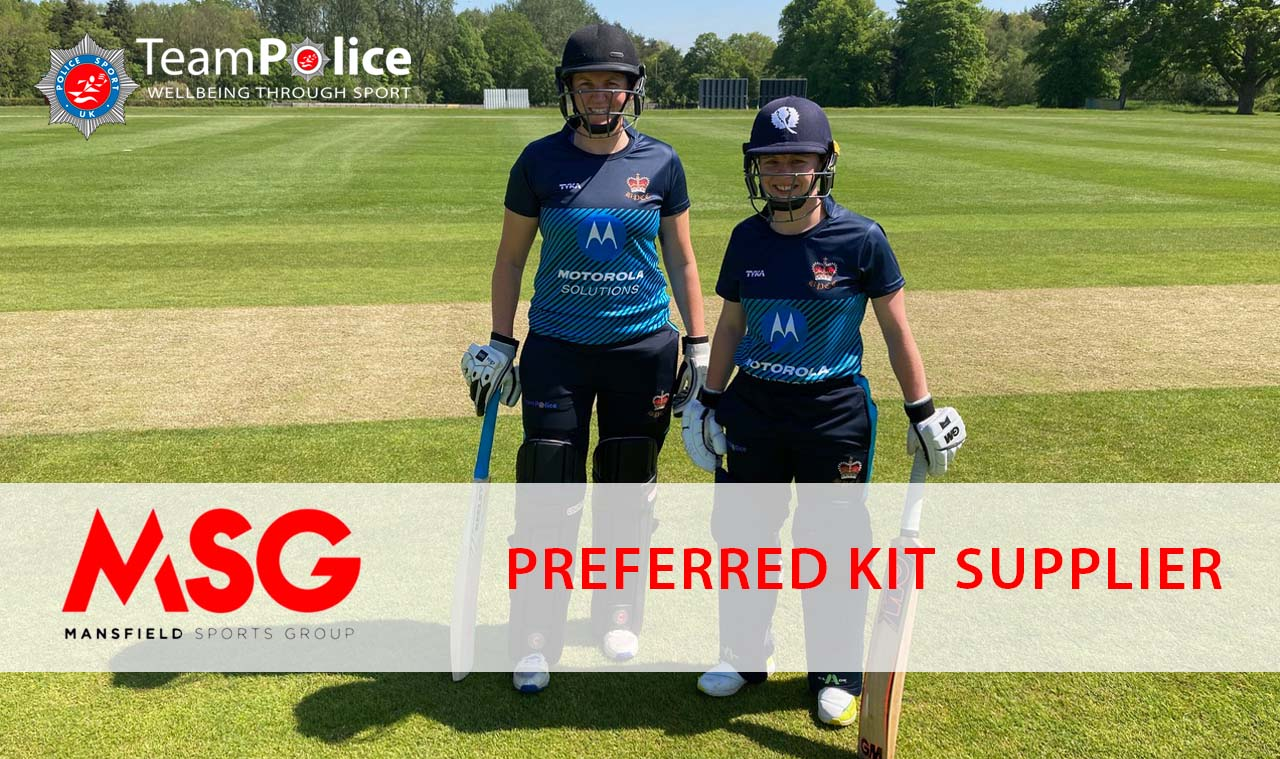 MSG to become preferred kit supplier for Police Sport UK